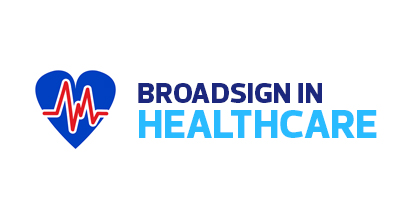 Broadsign in Healthcare