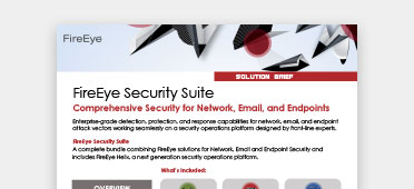 FireEye Showcase | Network, Endpoint & Email Security